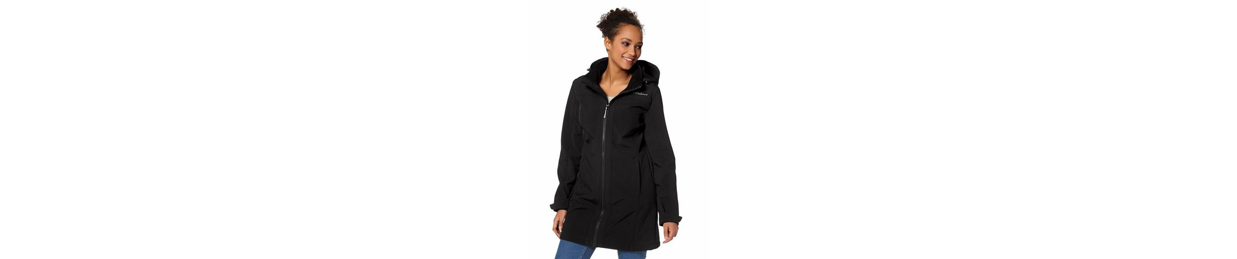 H.I.S Softshellparka, innen mit weichem Fleece