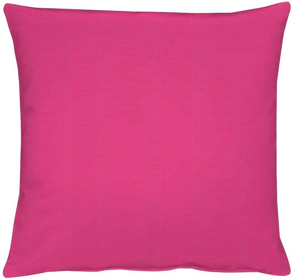 Kissenhüllen, Apelt, »4362 Rips Uni« (1 Stück) in pink