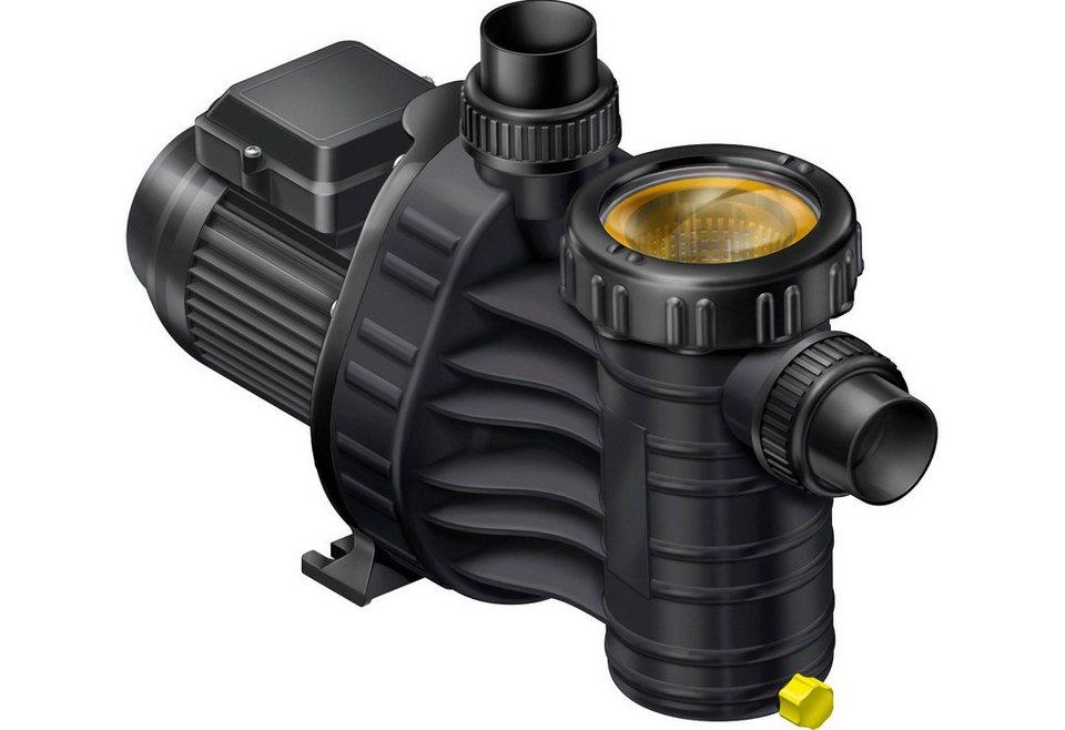 Filterpumpen »Aqua plus 8« Umwälzleistung 8m³ in schwarz