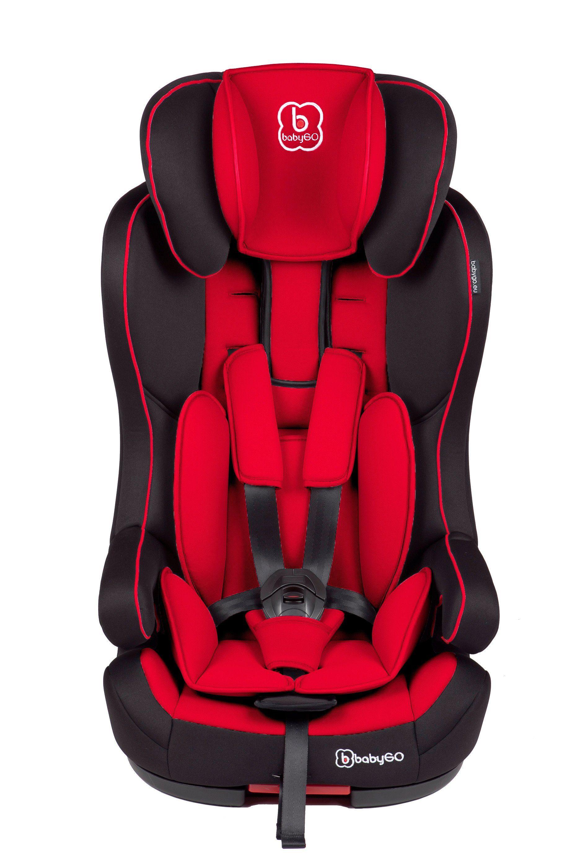 BABYGO Kindersitz »Iso red«, 9 - 36 kg, Isofix