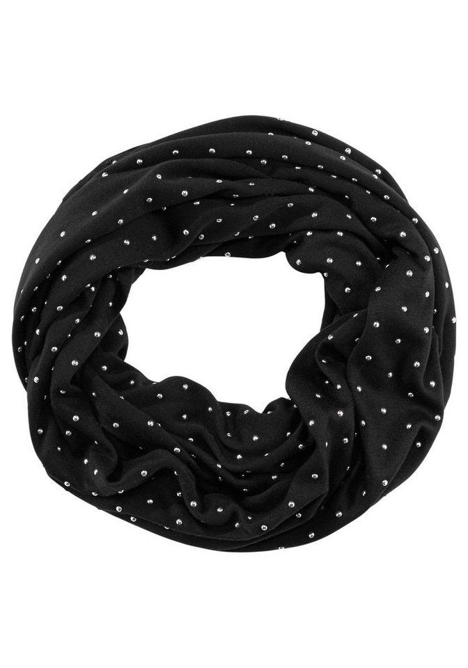 J. Jayz Loop mit Glitzerdetails in schwarz