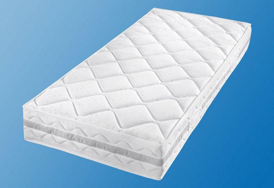 Gelschaum-Taschenfederkernmatratze, »Gelschaum-Komfort-TFK«, Breckle