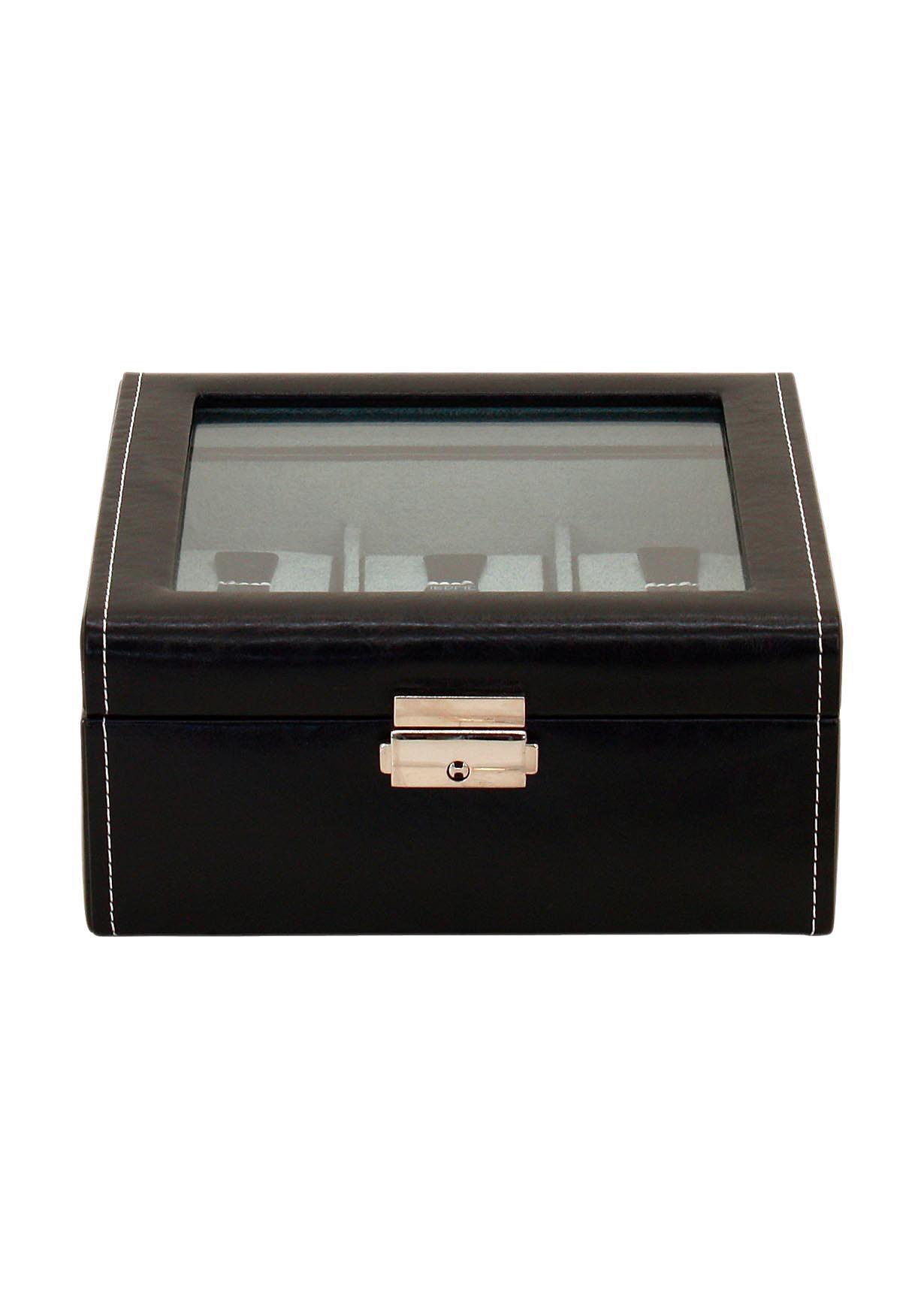FRIEDRICH23 Uhrenkasten »Bond« mit Glasdeckel