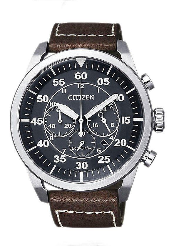 Citizen Chronograph »CA4210-16E« in braun
