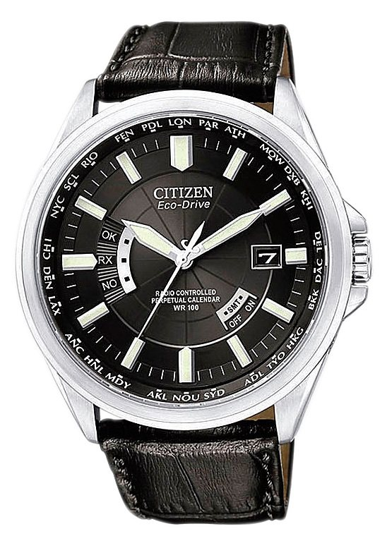 Citizen Funkuhr »CB0010-02E« in schwarz