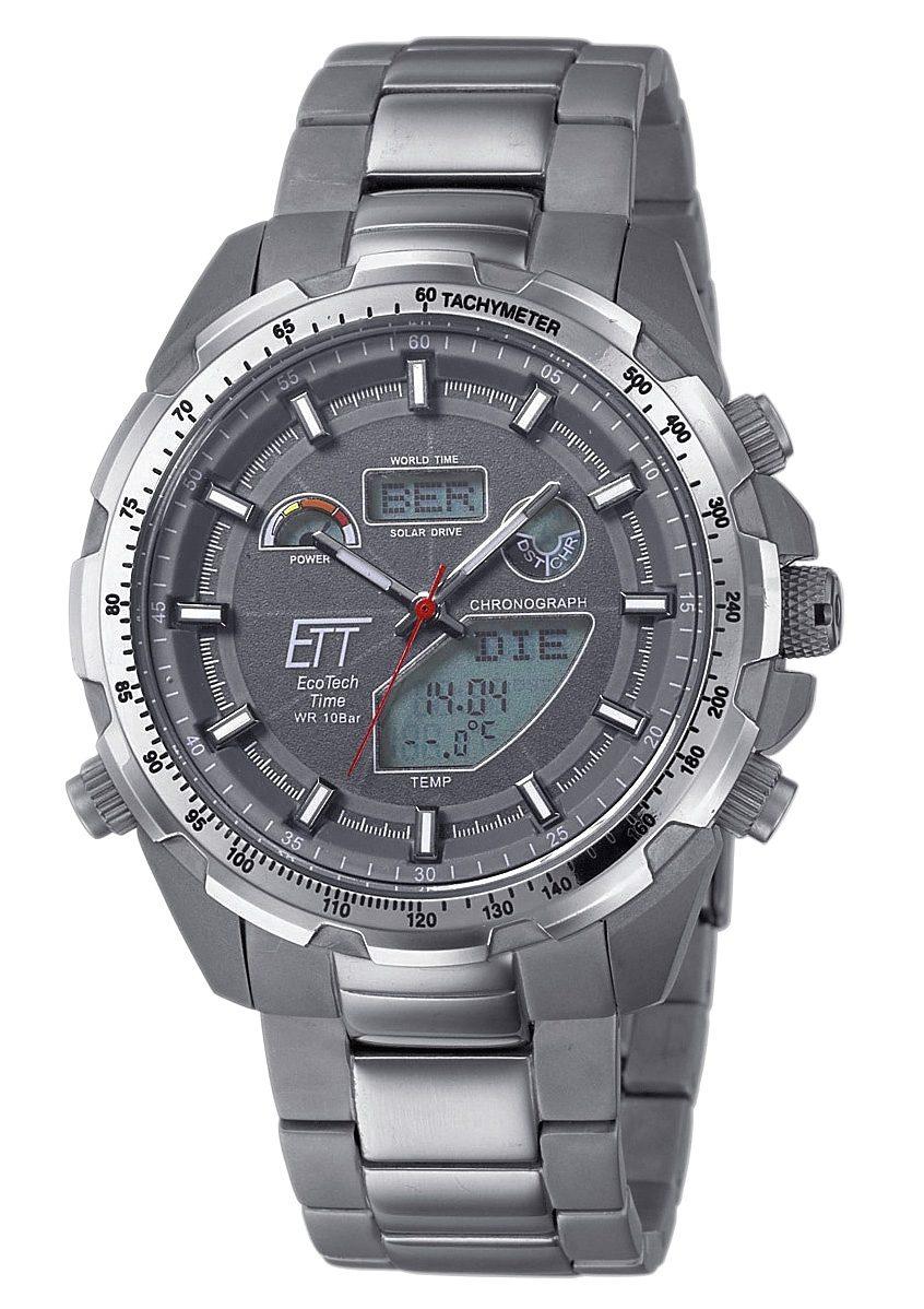 ETT Funkchronograph »EGT-11271-21M«, Mit Temperaturanzeige