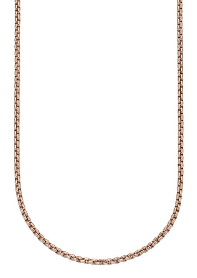 firetti Halsschmuck: Halskette /Collierkettchen in Venezianerkettengliederung in roségoldfarben