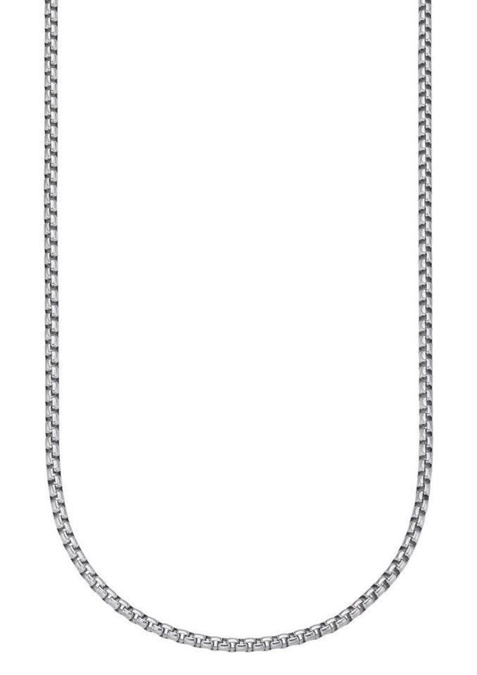 firetti Halsschmuck: Halskette / Collierkettchen in Venezianerkettengliederung in silberfarben