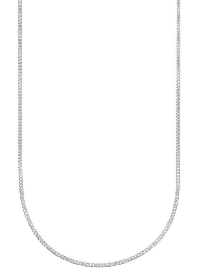 firetti Halsschmuck: Halskette / Collierkettchen in Panzerkettengliederung in Silber 925