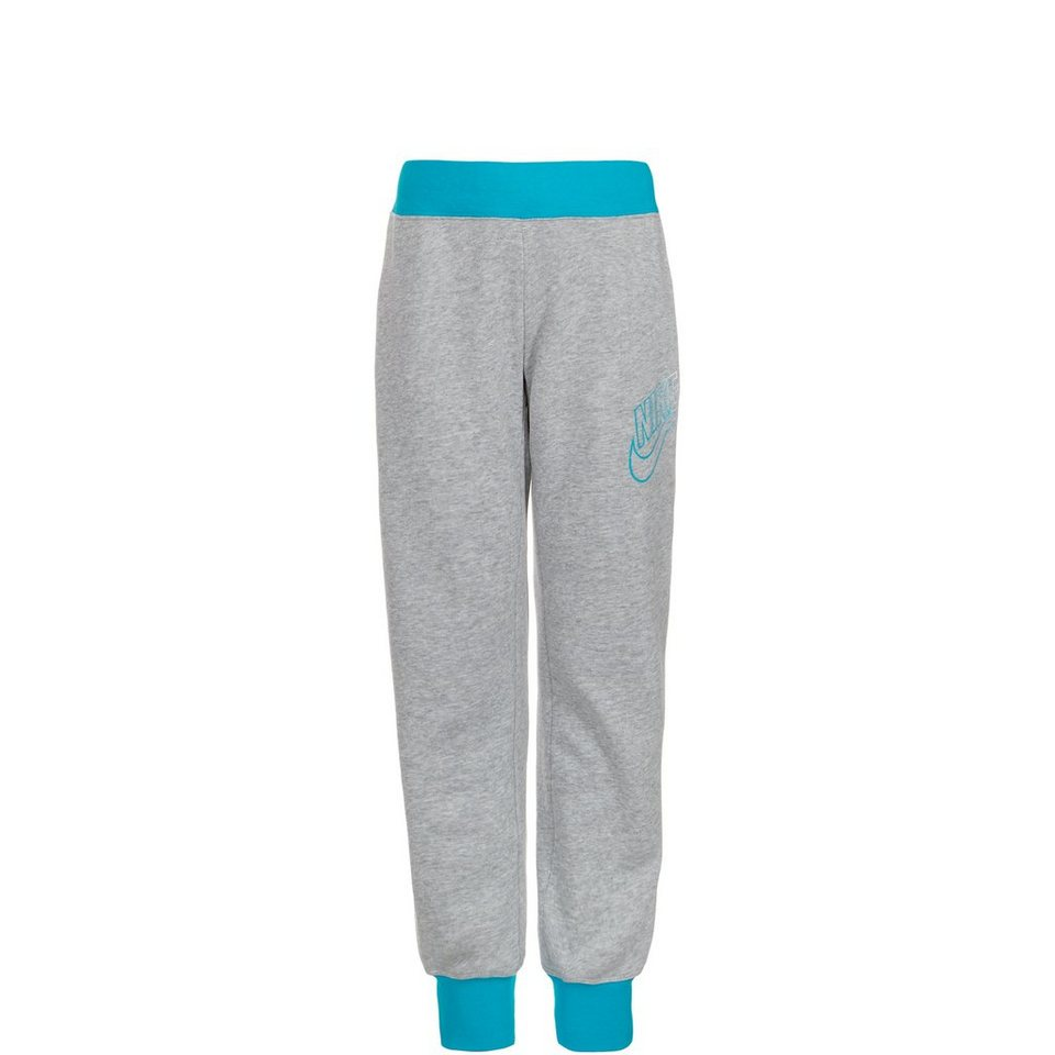 Nike Sportswear Skinny Semi-Brushed Cuffed Trainingshose Kinder in grau / hellblau