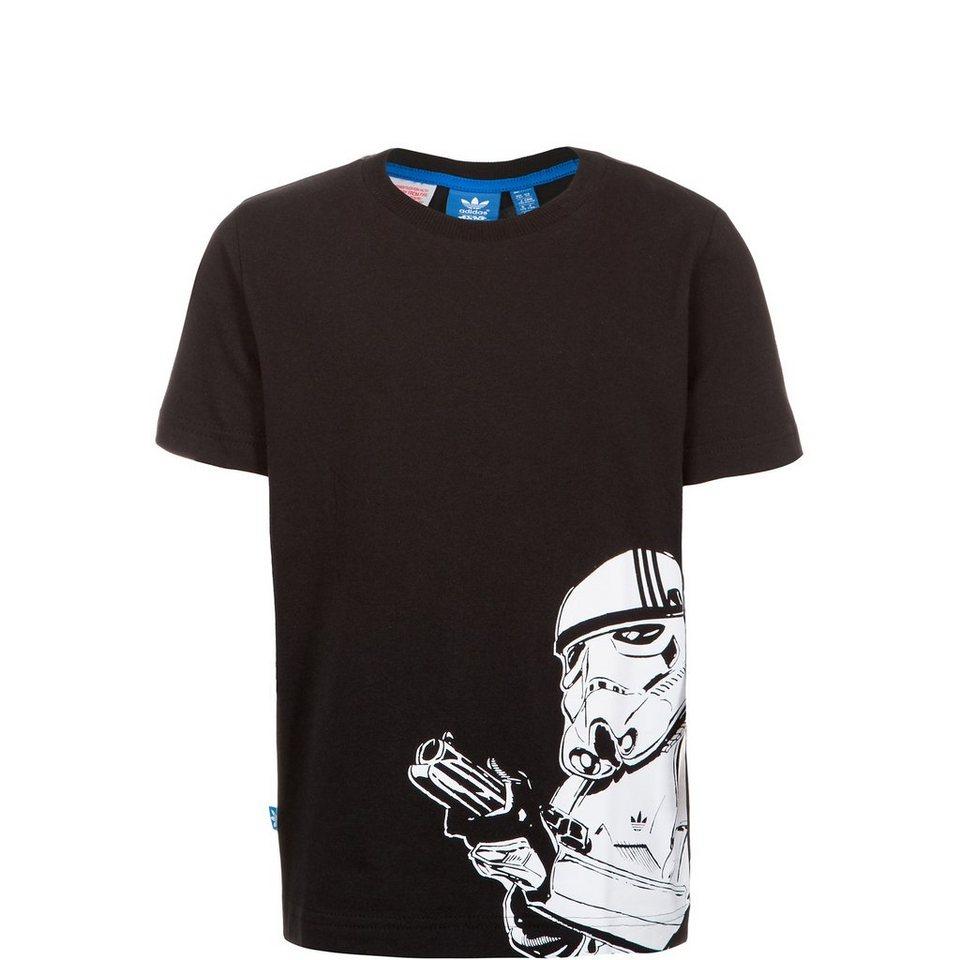 adidas Originals Star Wars Stormtrooper T-Shirt Kinder in schwarz / weiß