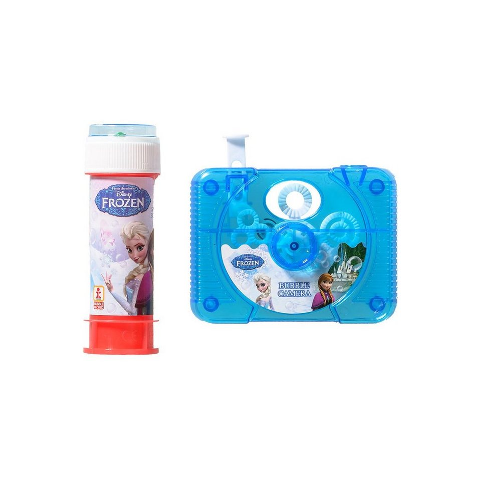 Dulcop Seifenblasen-Kamera Die Eiskönigin in blau