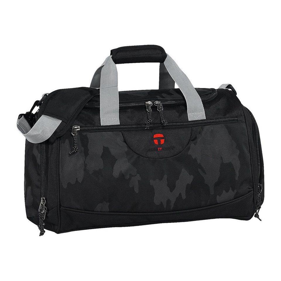 Take it Easy TiE Sporttasche Camouflage Black