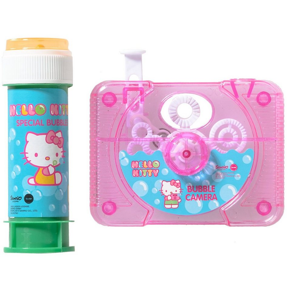 Dulcop Seifenblasen-Kamera Hello Kitty