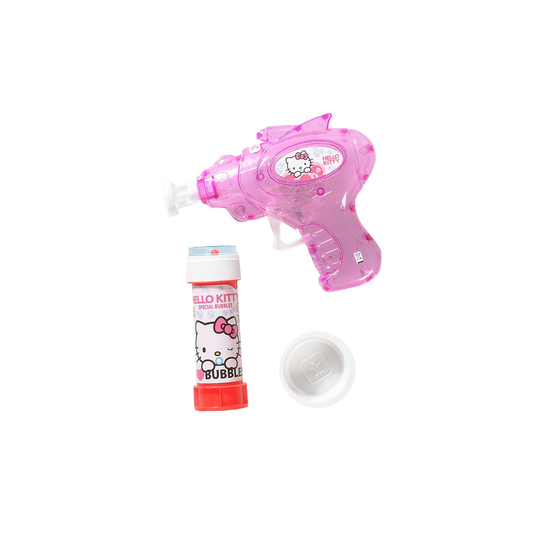 Dulcop Seifenblasen-Pistole Hello Kitty