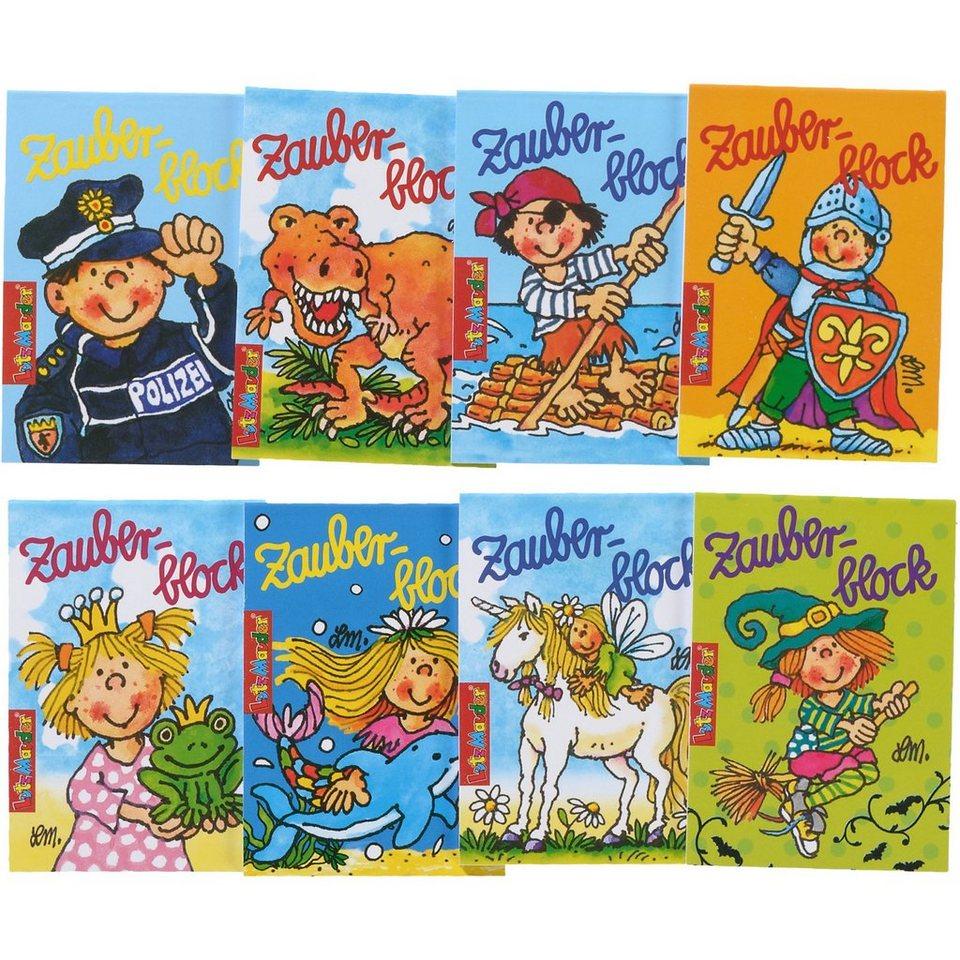 Lutz Mauder Verlag Zauberblockset gemischt, 8-tlg.