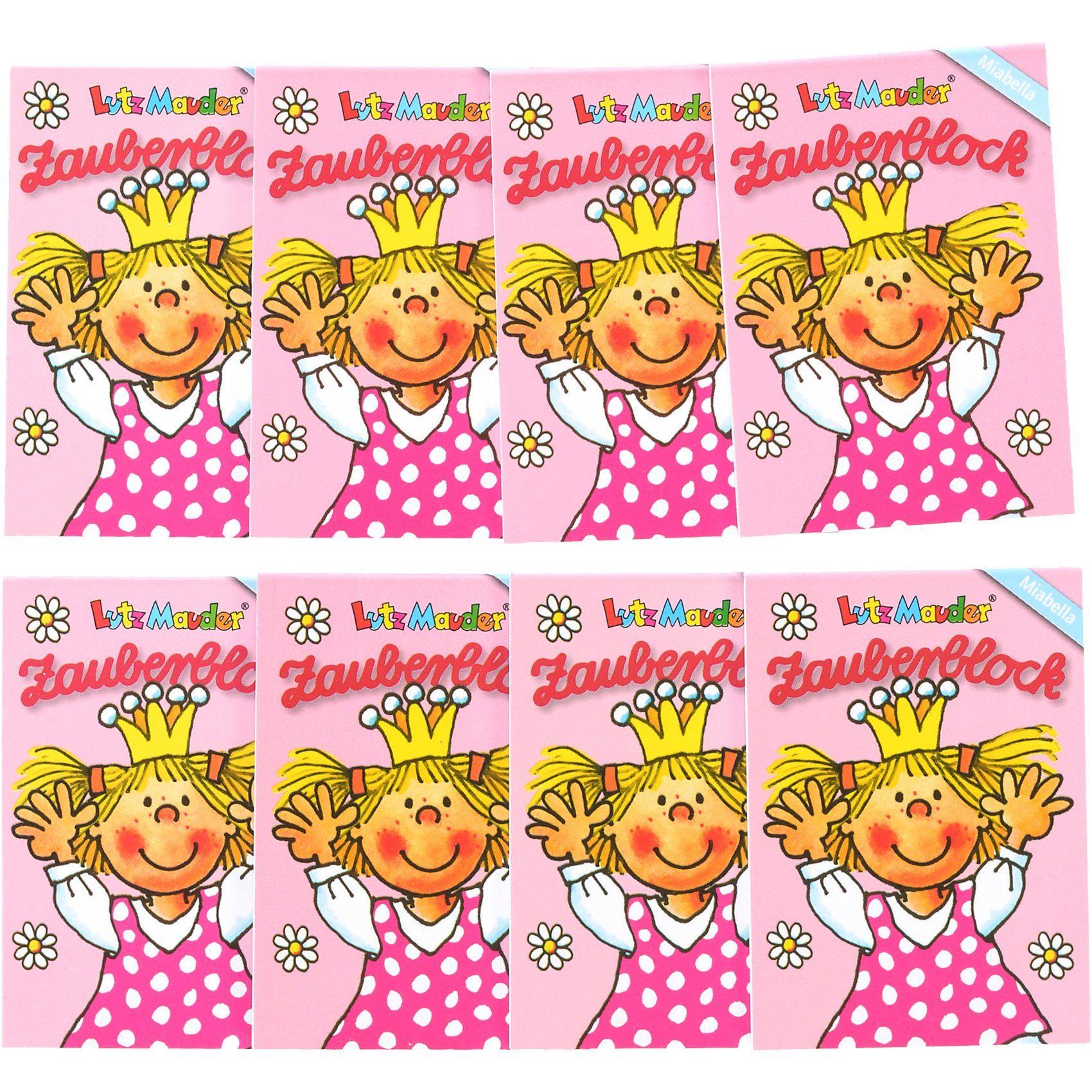 Lutz Mauder Verlag Zauberblock Prinzessin Miabella A8, 8-tlg.