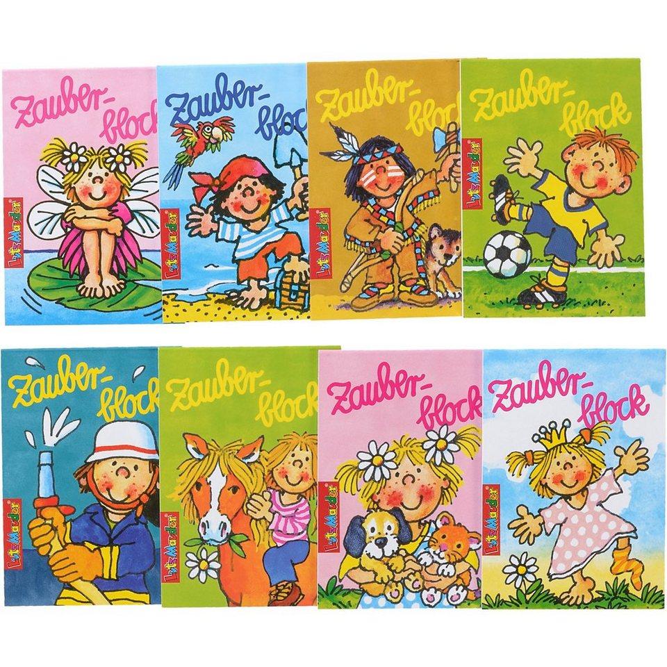 Lutz Mauder Verlag Zauberblockset, 8-tlg.