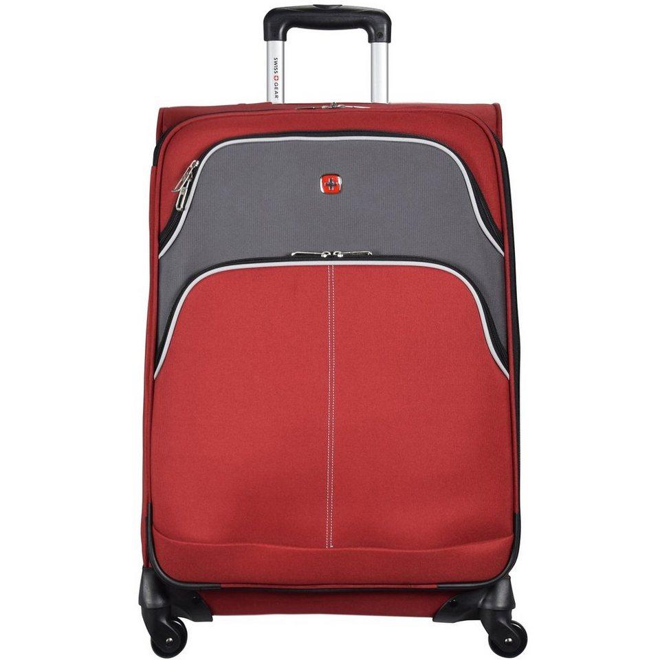 Wenger Swiss Gear Arbon 4-Rollen Trolley 71 cm in burgundy-grau