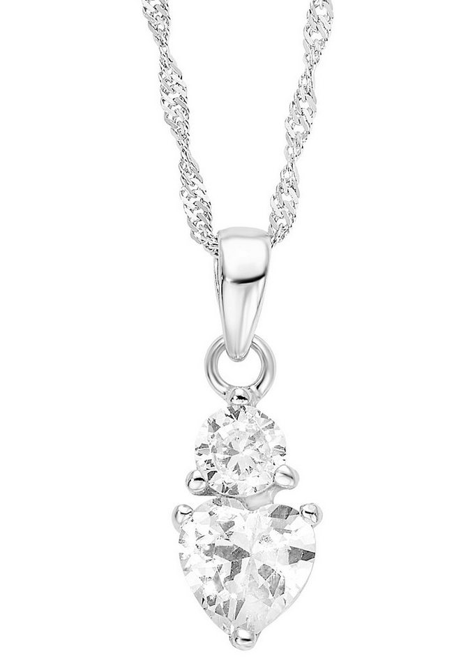 Amor Halskette, »Herz, 532020« in Silber 925