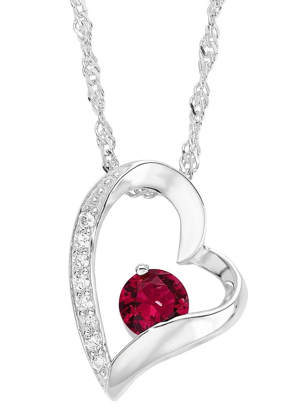 Amor Halskette, »mit Herzanhänger, 497046«