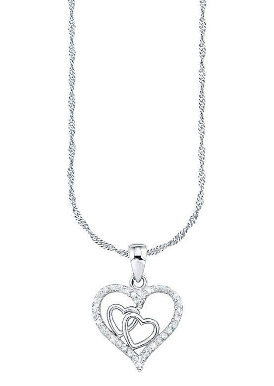 Amor Halskette, »mit Herzanhänger, 492393«