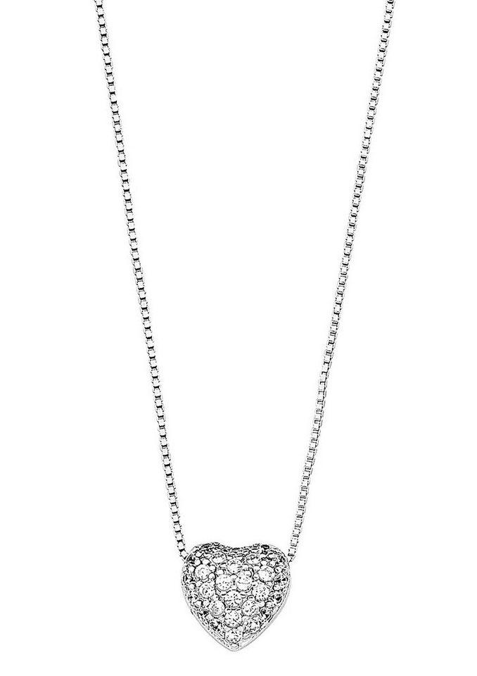 Amor Halskette, »Herz, 495608« in Silber 925