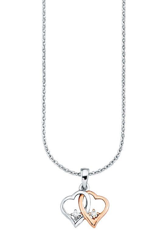 Amor Halskette, »mit Herzanhänger, 495578«