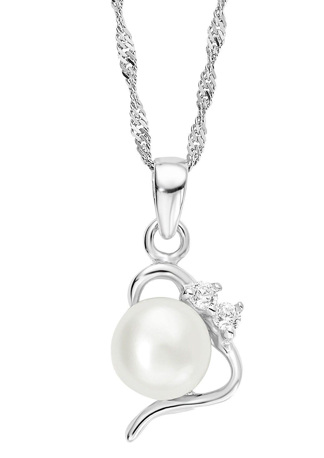 Amor Halskette, »mit Perlenanhänger, 493116«