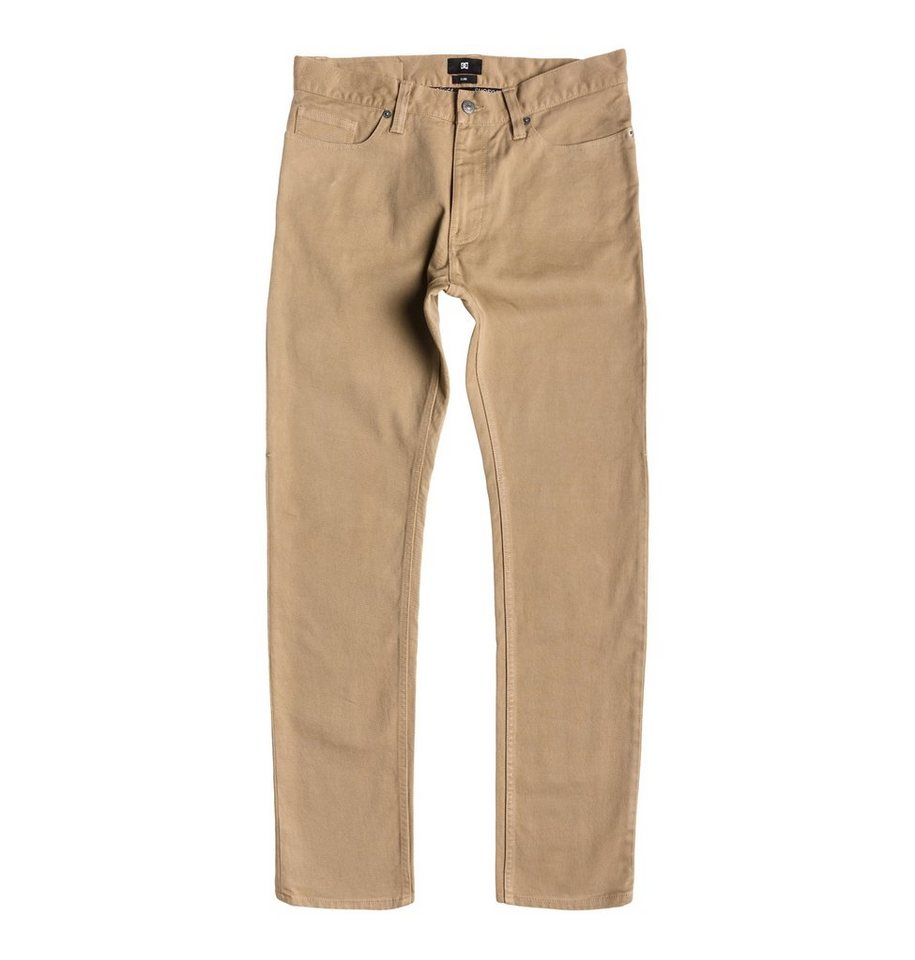 DC Shoes jean »Worker Elevated Color Slim Jean 32« in khaki