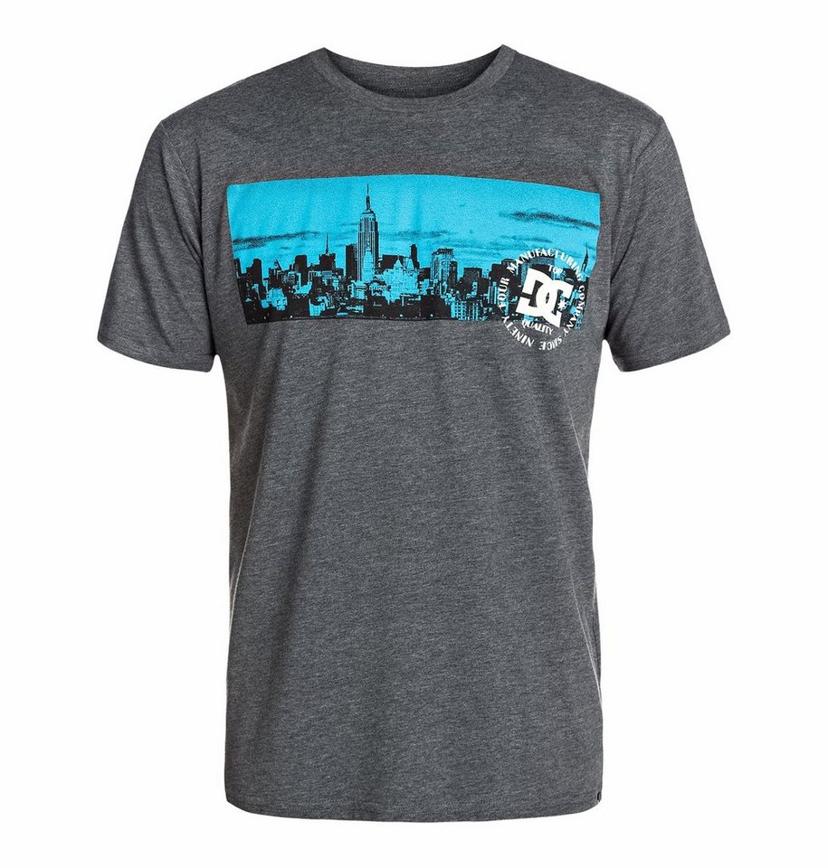 DC Shoes Screen T-Shirt »Heights Short Sleeve« in dark heather grey