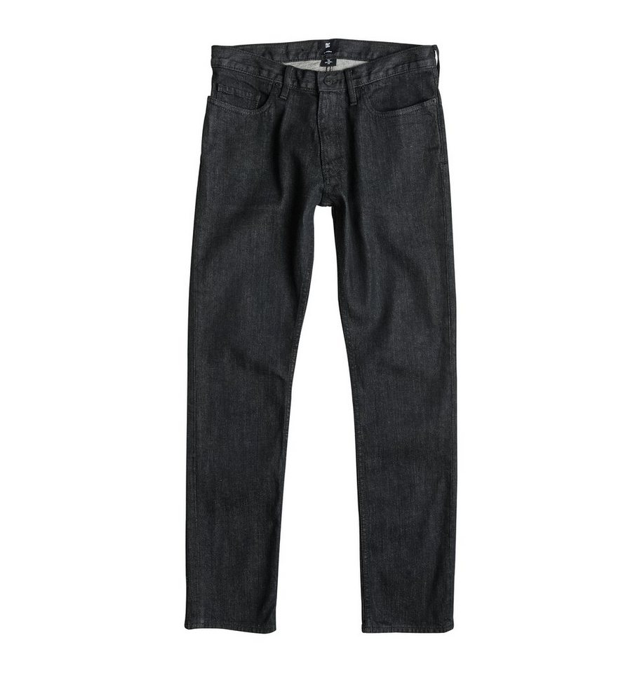 DC Shoes jean »Worker Basic Straight Jean Black Rinse 32« in black rinse