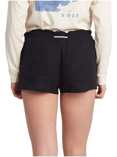 Roxy Leinen Strand Shorts Oceanside