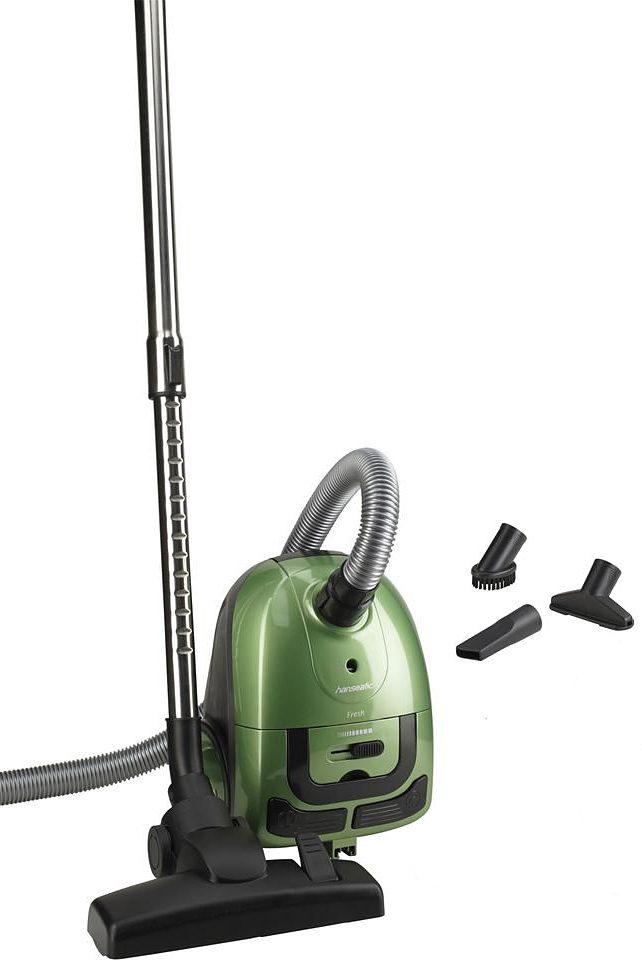 Hanseatic Staubsauger, mit Beutel, 1000 Watt, grün
