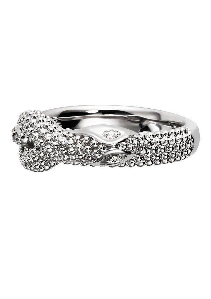 caï Women Ring, »Snake, C1609R/90/03« in Silber 925