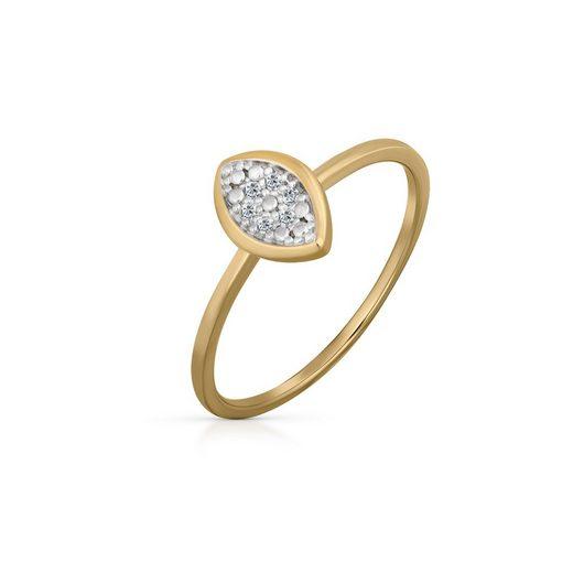 Orolino Diamantring »585/- Gelbgold Brillant«