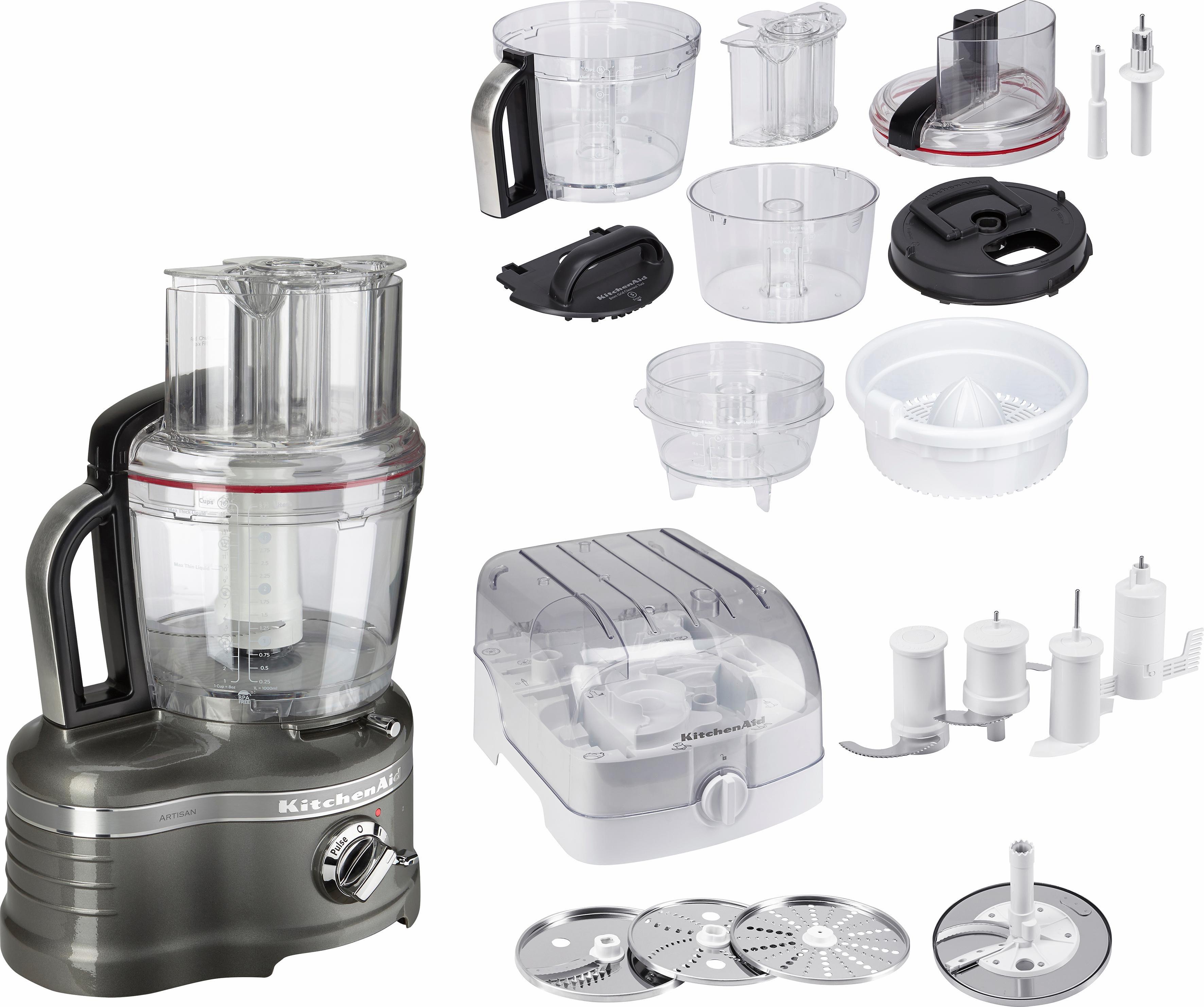 4 Liter KitchenAid Food Processor Artisan 5KFP1644EMS