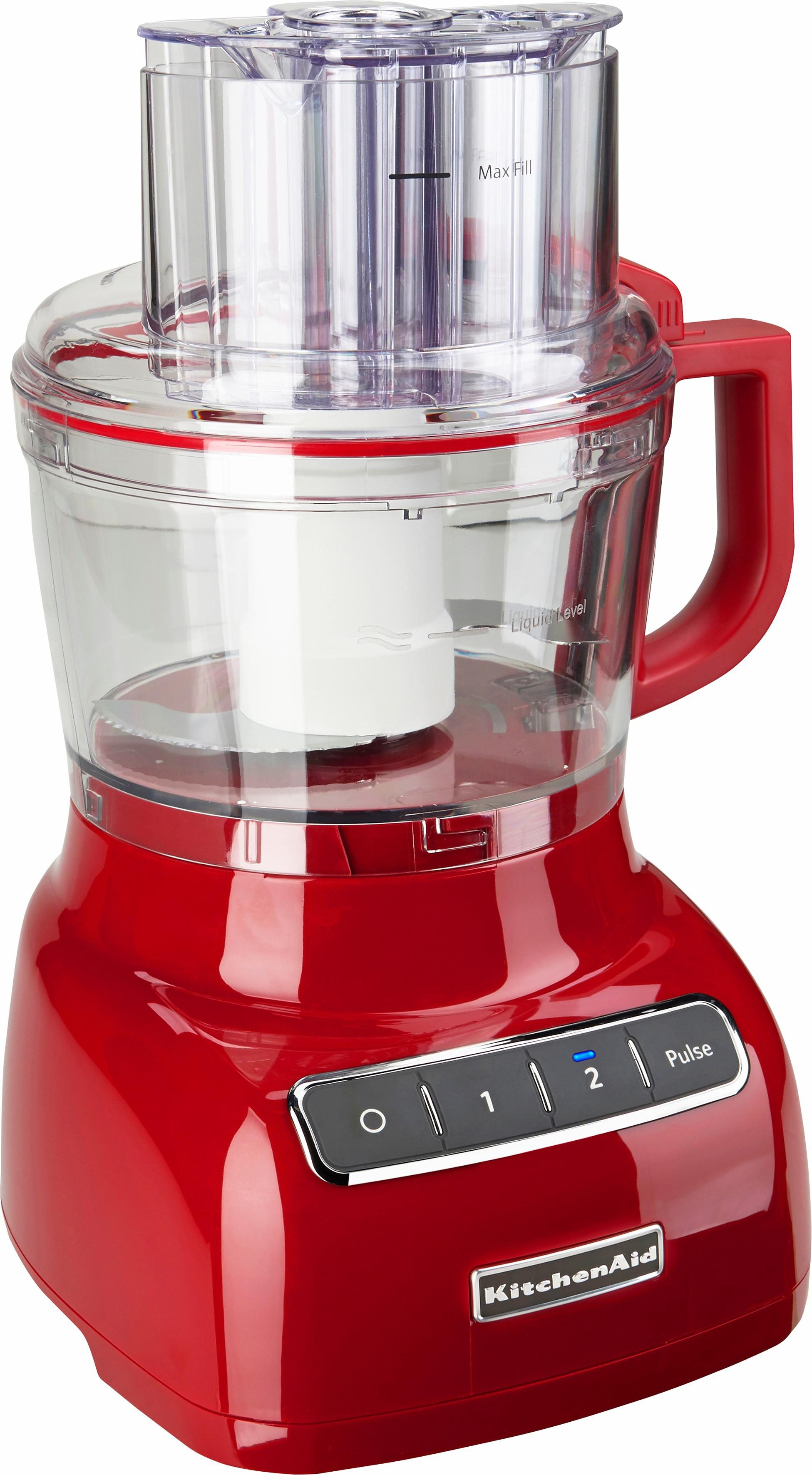 KitchenAid Artisan Food Processor 5KFP0925EER, 2,1 Liter, empire rot