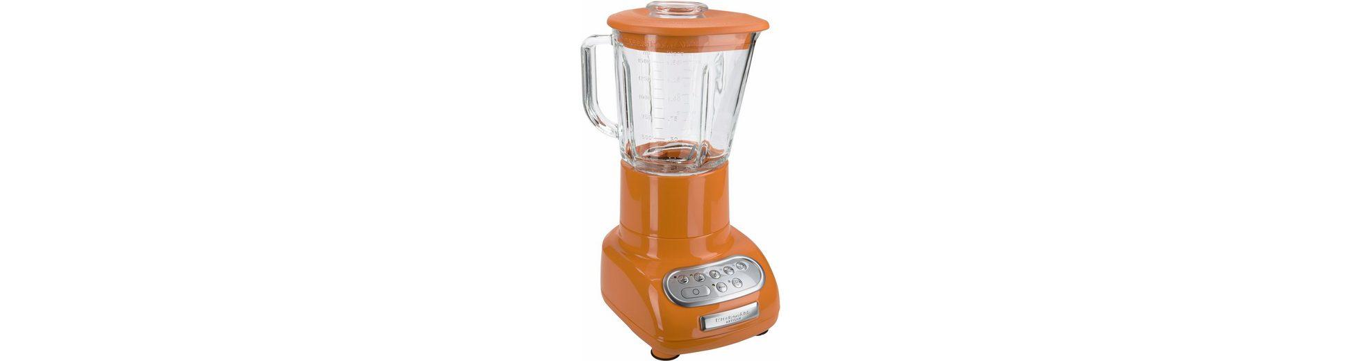 KitchenAid Standmixer Artisan 5KSB5553ETG, 550 Watt, tangerine