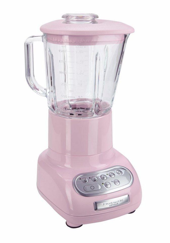 KitchenAid Standmixer 5KSB5553EPK, 550 Watt, 5 Stufen, Pink in Pink