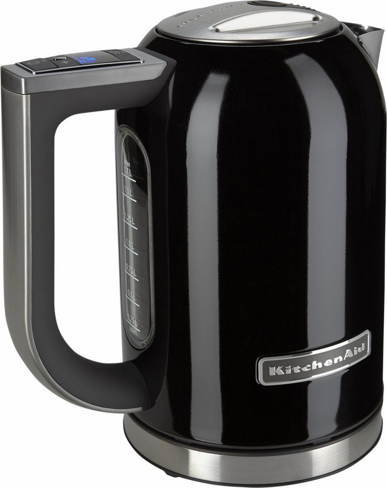 kitchenaid wasserkocher 5kek1722eob 1 7 liter 2400 watt schwarz online kaufen otto. Black Bedroom Furniture Sets. Home Design Ideas
