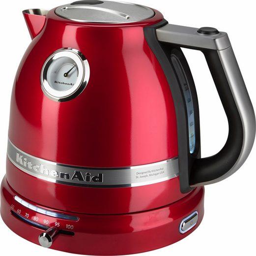 KitchenAid Wasserkocher 5KEK1522ECA, 1,5 l, 2400 W, liebesapfelrot