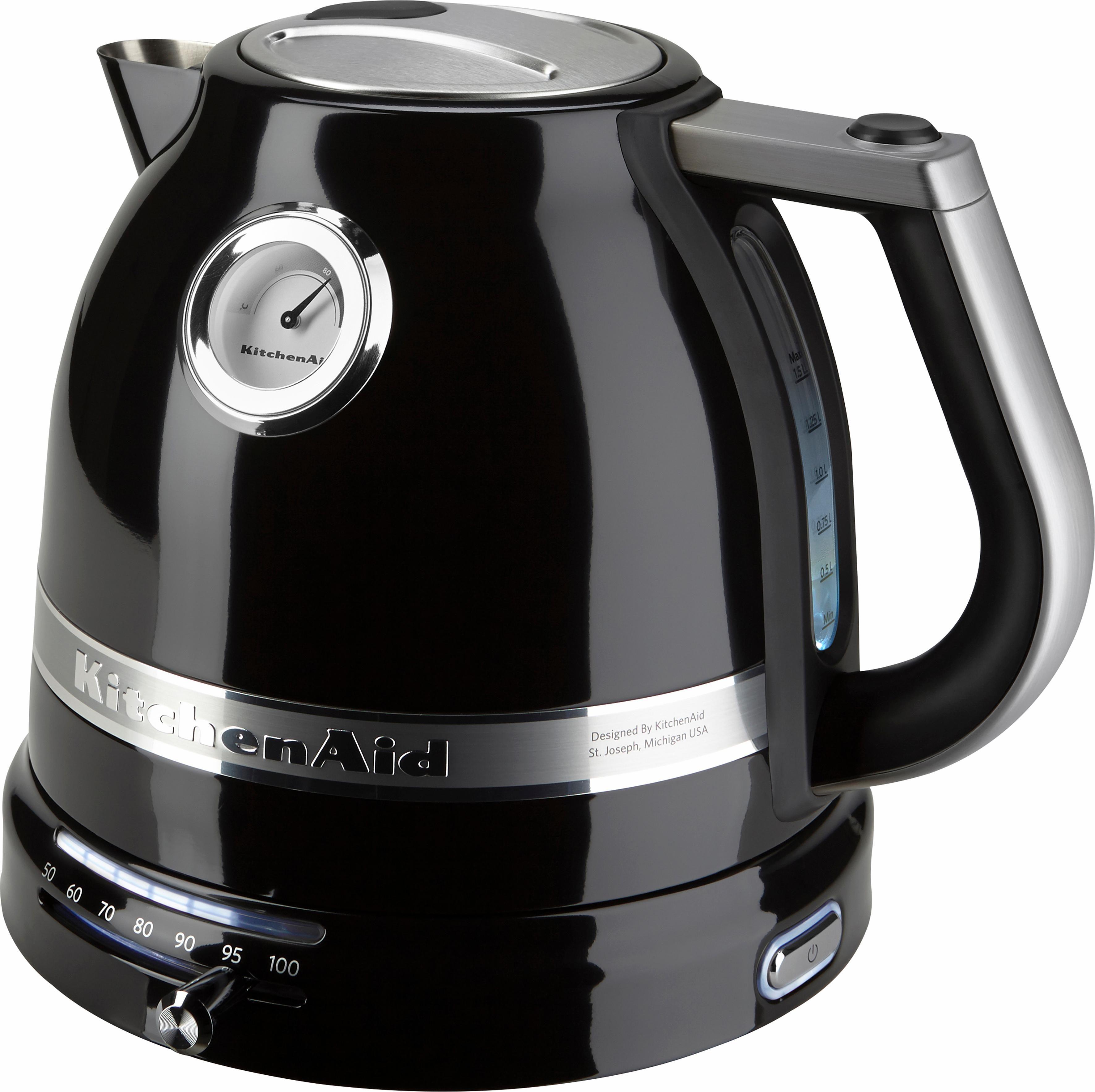 KitchenAid Wasserkocher 5KEK1522EOB, 1,5 l, 2400 W, onyx schwarz