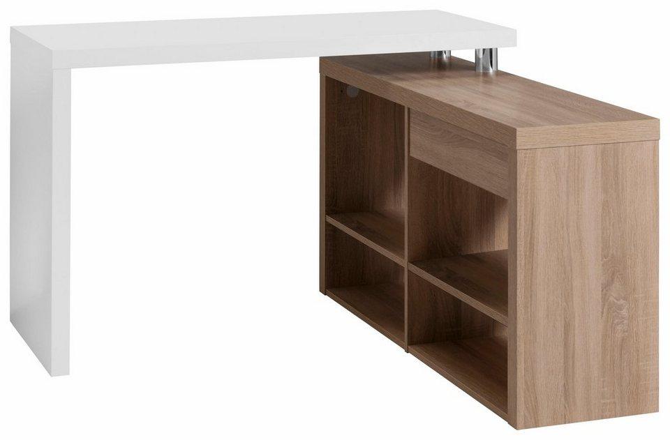 hmw eck schreibtisch split online kaufen otto. Black Bedroom Furniture Sets. Home Design Ideas
