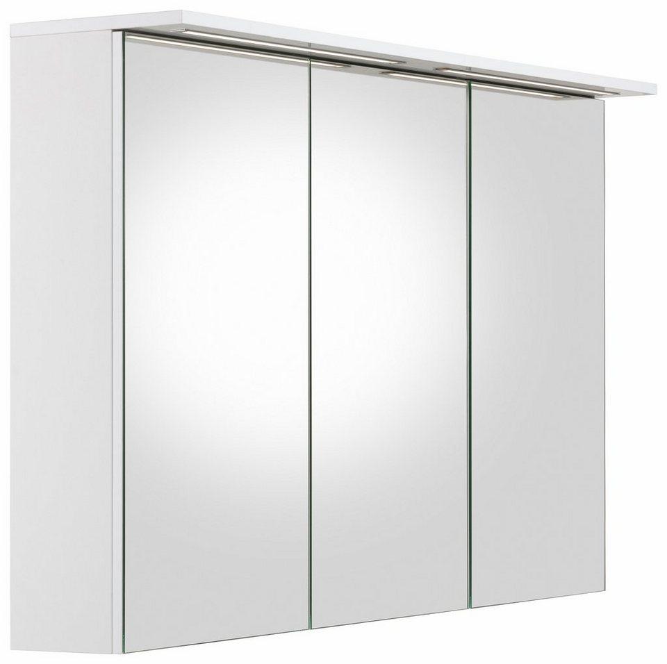 Schildmeyer Spiegelschrank »Profil 16« mit LED-Beleuchtung in weiß