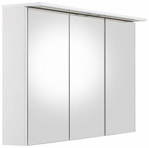 Schildmeyer Spiegelschrank »Profil 16« mit LED-Beleuchtung und 3 Türen
