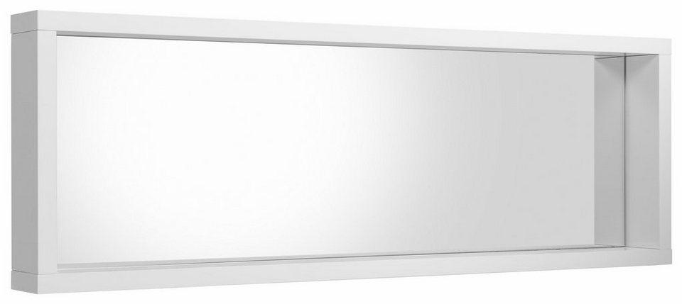 HMW Spiegelpaneel «Spazio« in weiß