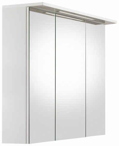 Schildmeyer Spiegelschrank »Profil 16« Mit LED Beleuchtung Und 3 Türen