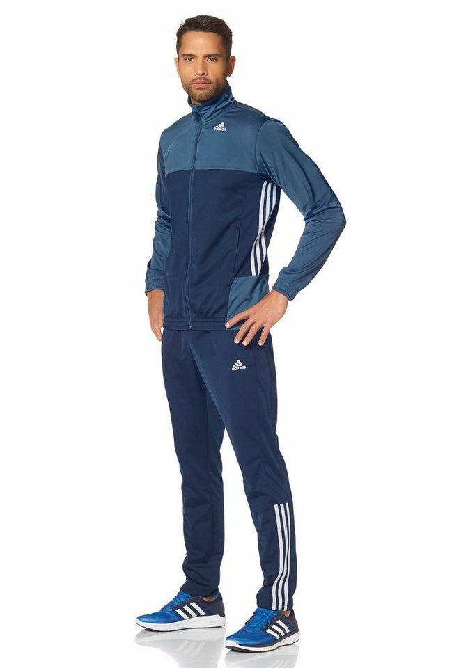 adidas Performance TRACKSUIT BTS Trainingsanzug in Blau