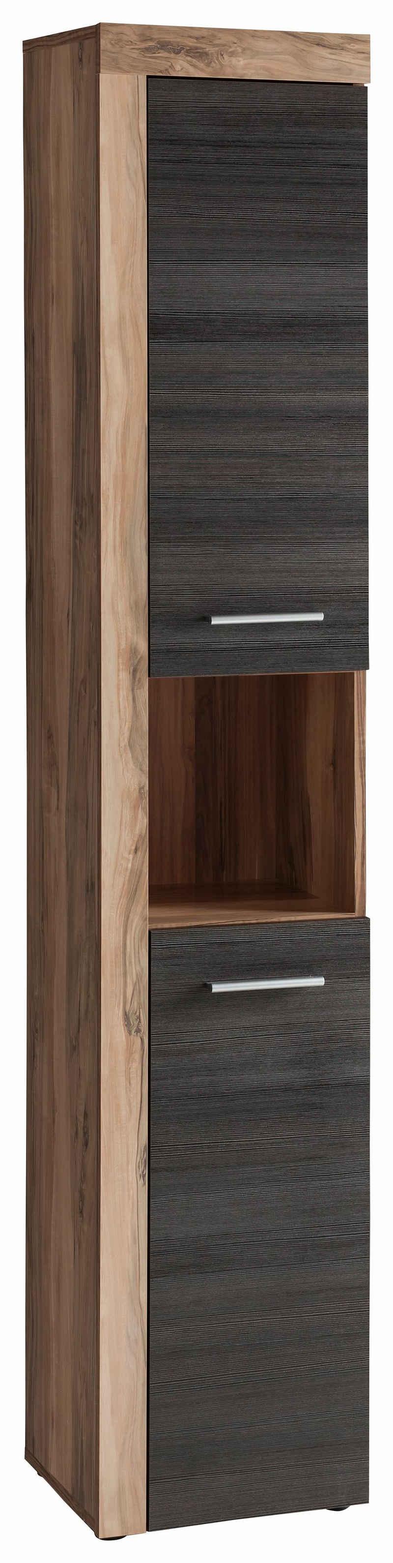 trendteam Hochschrank »CANCUN« mit Rahmenoptik in Holztönen, Breite 36 cm